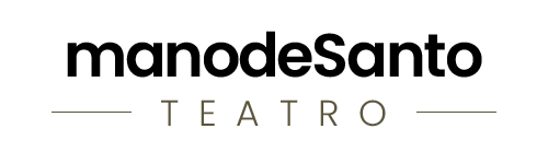 Manodesanto teatro logo